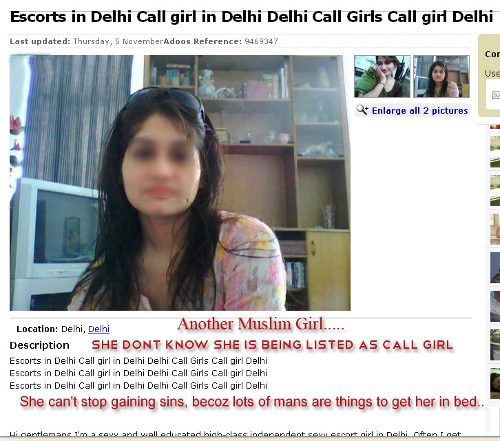 Muslim call girls