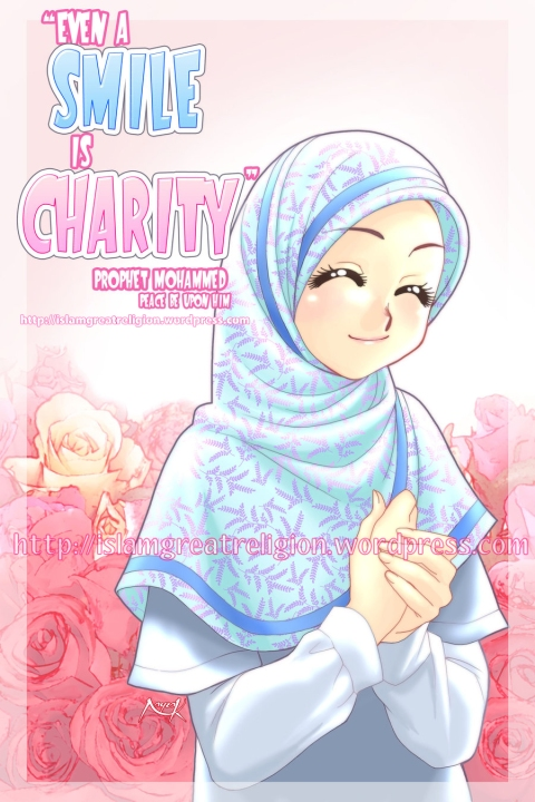 Even A Smile Is Charity Prophet Muhammad Pbuh Islam Worlds