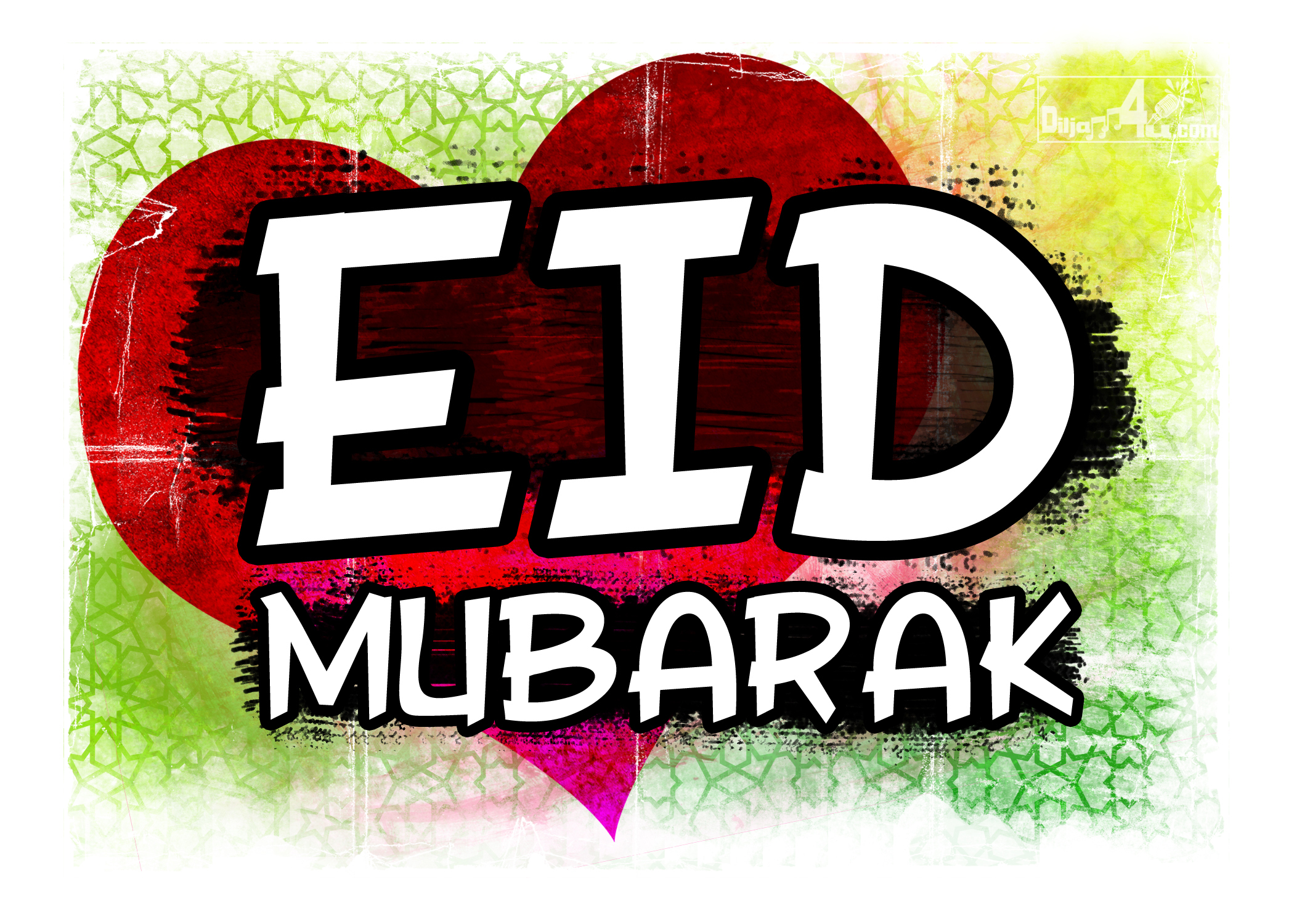 EID Mubarak Greetings 2014 Free Download.