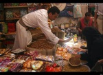 Yemenis shop at a market in Sanaa on November 3, 2011, in preparation for the Eid al-Adha feast, or Feast of Sacrifice, which marks the end of the annual hajj pilgrimage for Muslims worldwide.