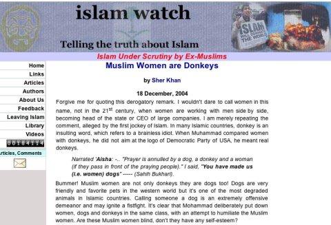 Islam make Women Donkey,lie Exposed