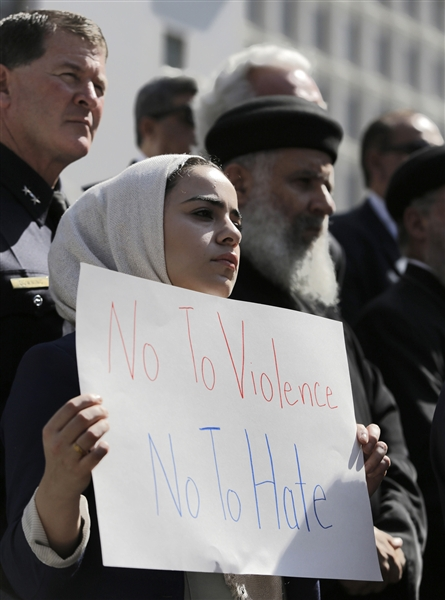 "American Muslim Reaction ""No to Violence - No To abusive Movie"""
