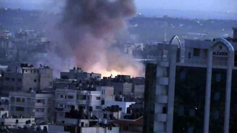 gaza-city-explosion-1-gaza-under-attack-