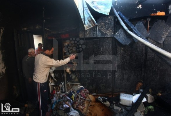 Nov 15, 2012 - Gaza under attack israel - Photo by Safa