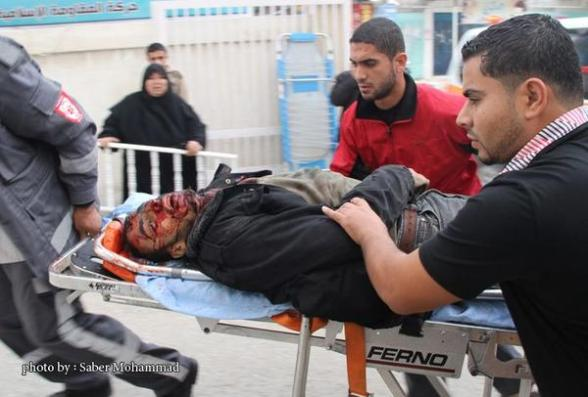 Wounded in Gaza - Nov 17, 2012