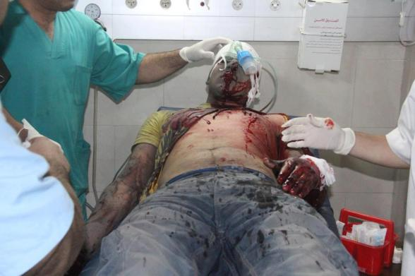 Nov 18 2012 Gaza Under Attack Al Dalou family Massacre