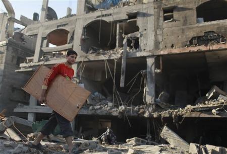 Nov 18 2012 - Gaza Under Attack by Israel Photo 2012-11-18T092750Z_1_CBRE8AH0QAK00_RTROPTP_2_PALESTINIANS-ISRAEL