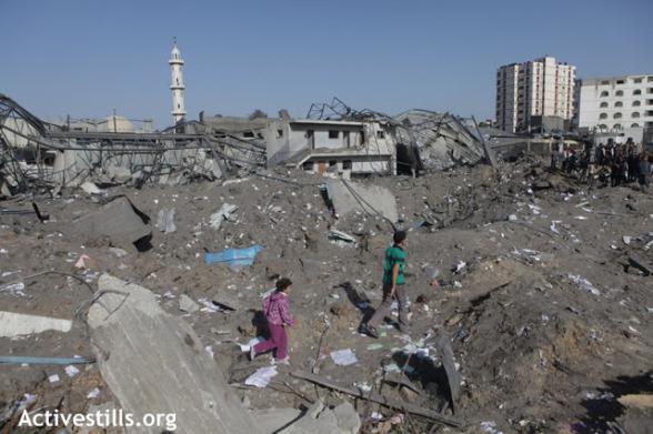 Nov 18 2012 Gaza Under Attack Israel photo by ActiveStills