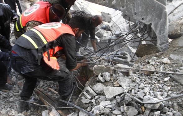 Nov 18 2012 Gaza Under Attack Israel Photo WAFA 41_18_17_18_11_20121