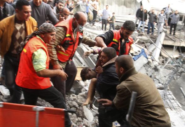 Nov 18 2012 Gaza Under Attack Israel Photo WAFA 41_18_17_18_11_20122