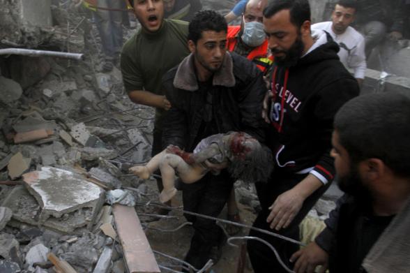 Nov 18 2012 Gaza Under Attack Israel Photo WAFA 41_18_17_18_11_20125