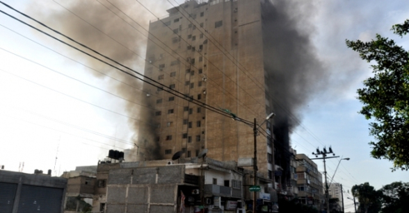 Gaza Under Attack  Nov 19, 2012 - Photo by PalToday.ps