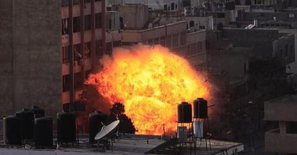 Gaza Under Attack  Nov 19, 2012 - Photo by PalToday.ps