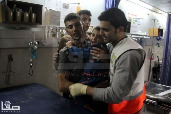 Children living and dying in Gaza Under Attack Nov 20, 2012 Photo by Safa