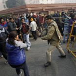 Protest against Delhi Bus Gang Rape case