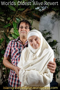 Georgette Lepaulle 92 Is Oldest Muslim Revert In The World