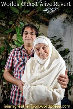 Georgette Lepaulle 92 Is Oldest Muslim Revert In The World