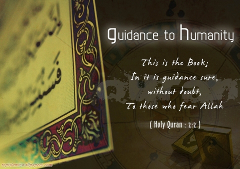 this is a Book,In it there is a guidance for sure_Quran_Verse_Wallpapers