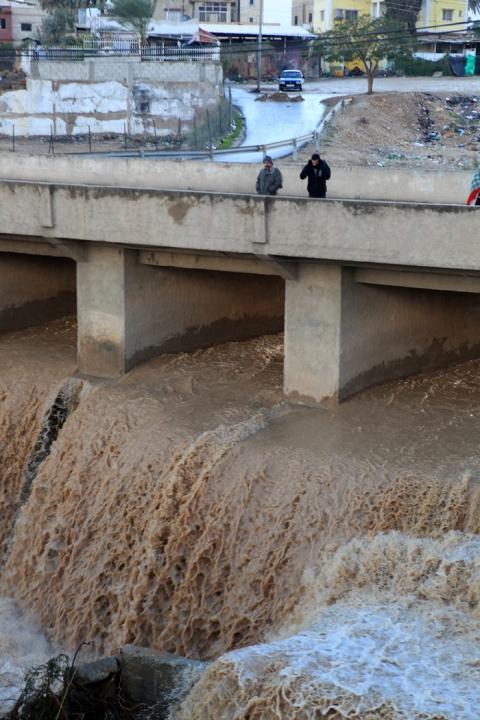 Flood in Jericho