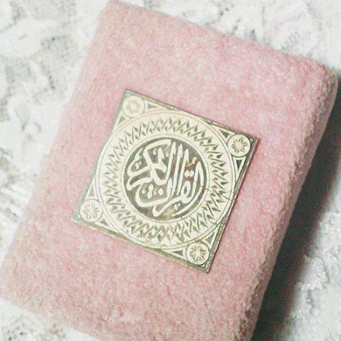 Light Pink Book of Quran