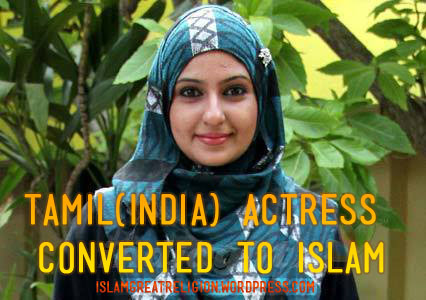 Monika(Tamil Actress) converted to islam