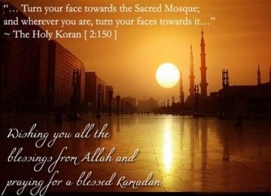 Ramadan Greeting Card 2014 with Wishes