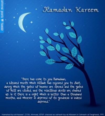 25 top beautiful ramadan greeting cards 2014 islam worlds ramadan greeting card with quran quote m4hsunfo Image collections