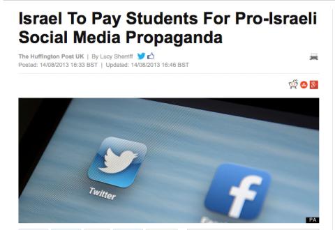 israel-social-media-war