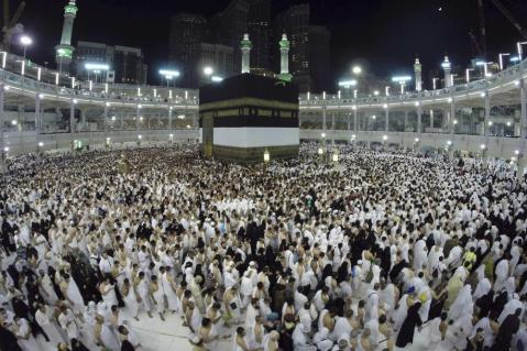 The Grand Mosque in Mecca is considered Islam's holiest site.