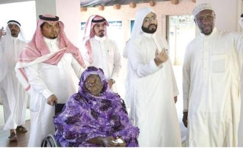Obama Grandmother in Makkah