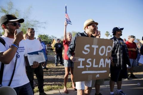 anti muslim protest in arizona PHOENIX