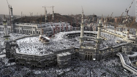 Mecca Mosque in Saudi Arabia