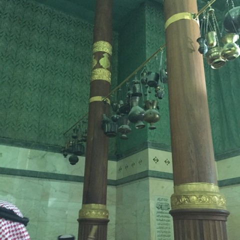Hanging Lamps in Kaaba