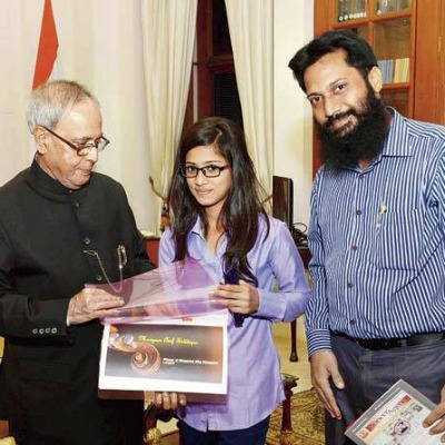 maryam siddiqui - A Winner of Hindu Holy Book Bhagvad Gita Contest.