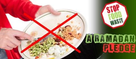 Do not Waste Food in Ramadan