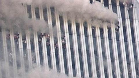 One of the most horrific and enduring 9-11 images